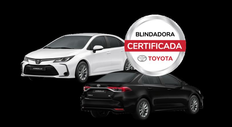 Corolla Blindadora certificada Toyota